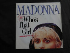 madonna who's that girl-SP 45 tours