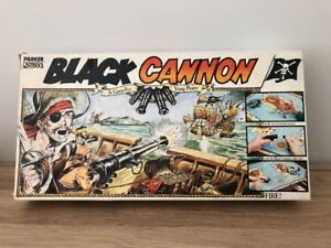 BLACK CANNON By PARKER PIRATE BOARD GAME *Multi Listing* Choose your spares