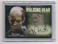 WALKING DEAD SEASON 3 PT 1 GREG NICOTERO AUTOGRAPH/WARDROBE CARD #AM6