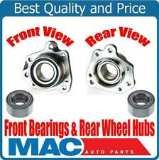 100% New Front Wheel Bearing & Rear Bearings Assembly for Honda CRV 97-01