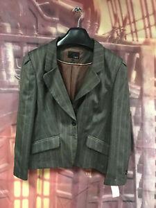 Womens Next Grey Tailored Blazer Size 18