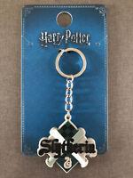 Harry Potter Schlüsselanhänger Hogwarts Slytherin Wappen Snake Taschen-Anhänger
