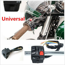 "7/8"" 5 Functions Motorcycle Waterproof Handlebar Switch Assembly Electric Start"