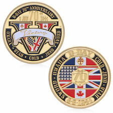 Normandie Victory 70th Anniversary 1944 Commemorative Challenge Coin Souvenir