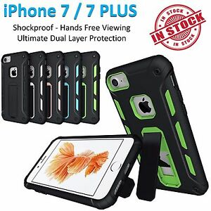 iPhone 7 Case 7 Plus Armor Phone Cover Kickstand Shockproof Rugged Tradesman