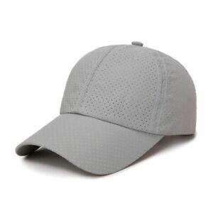 Quick Dry Mesh Cap Bone Breathable Unisex Running Caps