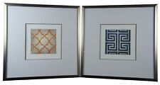Trellis & Surya Greek Key Modern Geometric Signed & Numbered Graphic Art Prints