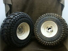 94 POLARIS ATV SPORT 400 4X4 REAR WHEEL RIM & 95% TIRE SET #YA27