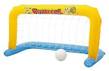 Bestway Porta con palla calcio pallanuoto gonfiabile galleggiante piscina 52123