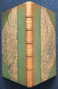 Charles Lamb by Orlo Williams, 1934 - Fine Binding by Bickers & Son, Very Good