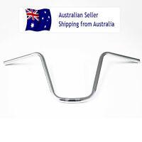 """7/8"""" 12'' Rise  Handlebar Ape Hanger Chrome For Custom Motorised Bike Bicycle"""