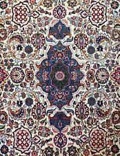 Perfect Persian - 1930s Amini Kashan Rug - Signature Carpet 11.9 x 17.2 ft