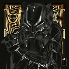 TChalla Black Panther Shower Curtain Color And Gold Size