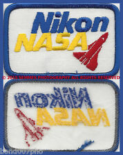 NIKON / NASA PATCH NEW FROM THE 70'S/80'S