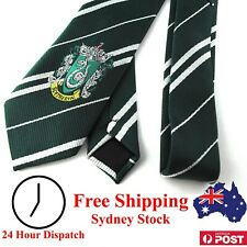 Harry Potter Tie Slytherin With House Emblem - Kid Dress Up Children Cosplay