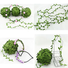 5M Silk Leaf Artificial Green Leaves Home Decor DIY Wreath Gift Craft Flower DIY