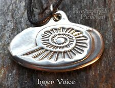 Inner Voice - Pewter Pendant - to listen to our inner call, speak our truths