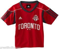 MLS Toronto FC Blank Home Call Up 4-7 Boys Jersey (Red, 7 Large) Adidas