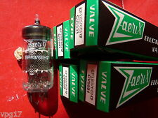 Ef183 6EH7 cv5831 z&i maille plaque new old stock Valve Tube 4 pc