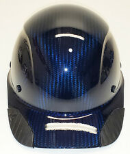 Custom Translucent Blue Carbon Fiber Lift Dax Hdcc-17Kg Cap HardHat