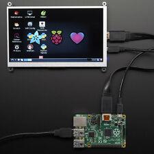 "Adafruit HDMI 7"" 800x480 Pantalla Mochila sin Touch P. Ej. Para Raspberry"