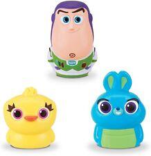 Mattel Disney Toy Story 4 Finger Puppets 3 Pack Ducky, Buzz Lightyear, Bunny NIP
