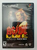 AC DC Live Rock Band Track Pack Walmart Exclusive Sony PlayStation 2 2008