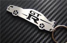 SKYLINE CAR R34 keyring keychain porte-clés NISMO GTR V M SPEC II N1 R S  Z TUNE