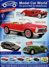 Model Car World Prospekt 2006 S17 Modellautos brochure model cars prospectus