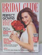 January February 2014 BRIDAL GUIDE Wedding Bride Dress Magazine