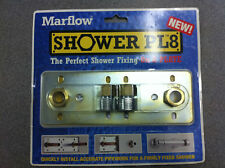 Marflow Fast Fix Shower Mounting Bracket Plate For Exposed Bar Shower 150mm PL8