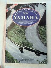 L'Italia In Moto Con YAMAHA Atlante Stradale Libro Rivista