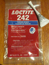 2 x Loctite 242 Blue Threadlocker
