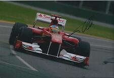 Fernando Alonso Genuine SIGNED In Person AUTOGRAPH Ferrari F1 12x8 Photo AFTAL