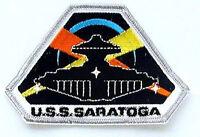 "Space Above & Beyond USS Saratoga Logo 4."" Embroid Patch- USA Mailed  (SABPA-11)"