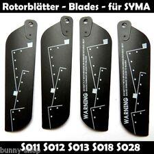 4 Rotorblätter B für Mini SYMA S011 S012 S013 S018 S026