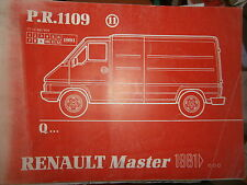 Renault MASTER propulsion : catalogue pièces PR1109-11