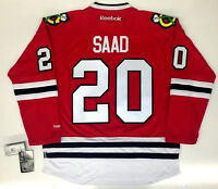 BRANDON SAAD CHICAGO BLACKHAWKS REEBOK NHL PREMIER JERSEY NEW WITH TAGS