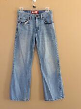 Levis 527 Boot cut Red Tab Men's Denim Blue Jeans Size 27 X 27 Worn Levi's