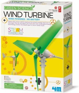 Build Your Own Wind Turbine - Eco-Engineering Green Science Educational Kit