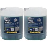 20L Kühlerfrostschutz Typ G13 MANNOL Antifreeze Kühlmittel (- 40°C) grün