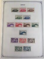 AVO ! [1133] COLONIES collection de timbres Fezzan & Ghadames dt poste aérienne