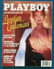 Dutch Playboy Magazine 1991-02 Brittany York, Leontien Ceulemans
