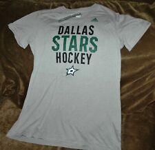 Dallas Stars Performance t-shirt women's small Adidas NHL performance gear gray