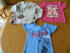 3 Girl's Minnie Mouse Tops Size 4 & 4T - VGUC