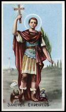 "santino-holy card""""ediz. EB-n.2/326 S.ESPEDITO M."