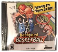 Backyard Basketball Pc Mac New Original One XP