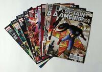 Captain America (2011) Issues 1 through 10, Brubaker, McNiven, All High Grade