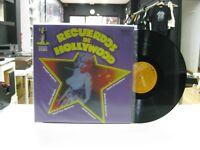 Recuerdos Von Hollywood LP Spanisch Marilyn Monroe, Harpo Marx 1974 Klappcover
