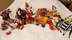 Disney Bean Bag Tricksters 1-5 & Pumbaa The Lion King Broadway Musical with Tags